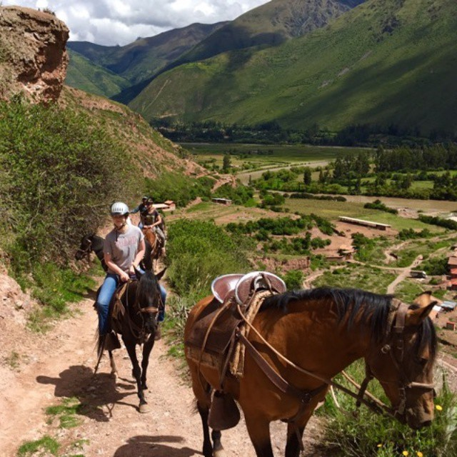 Priceless horse back ride around the sacredvalley un Cusco Peruhellip