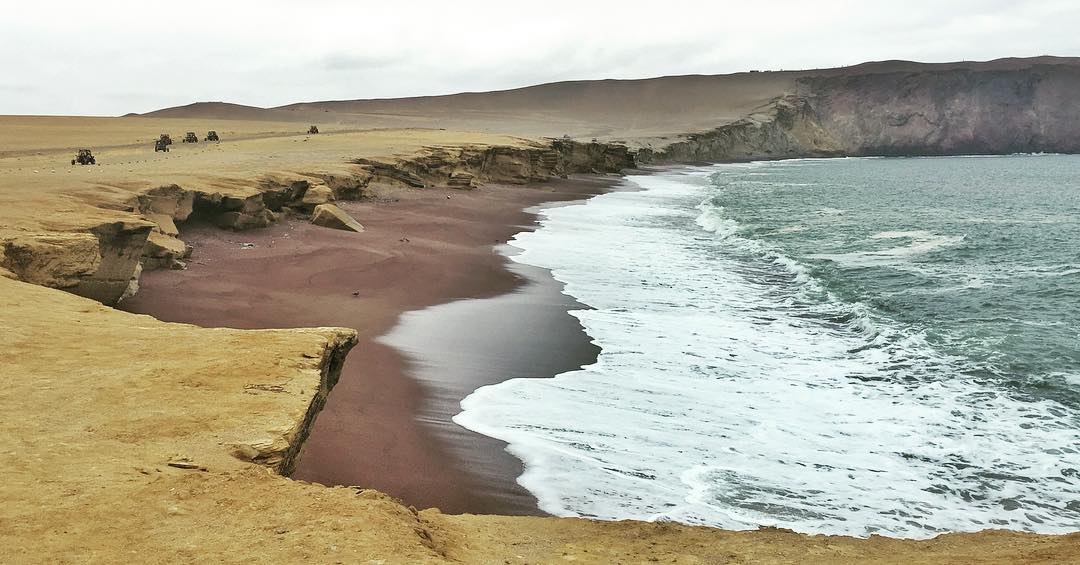 Playa La Roja Red Beach in National Reserve Park inhellip