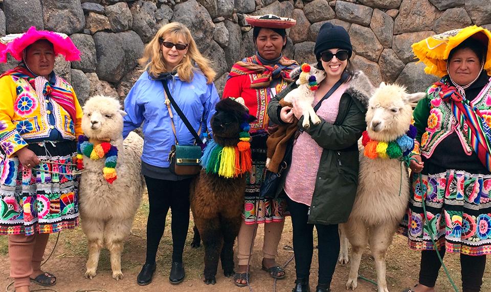 Llama-travel-Cusco-Peru