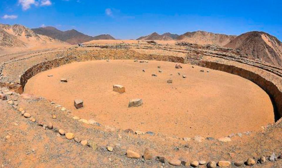Ancient History Caral Peru travel