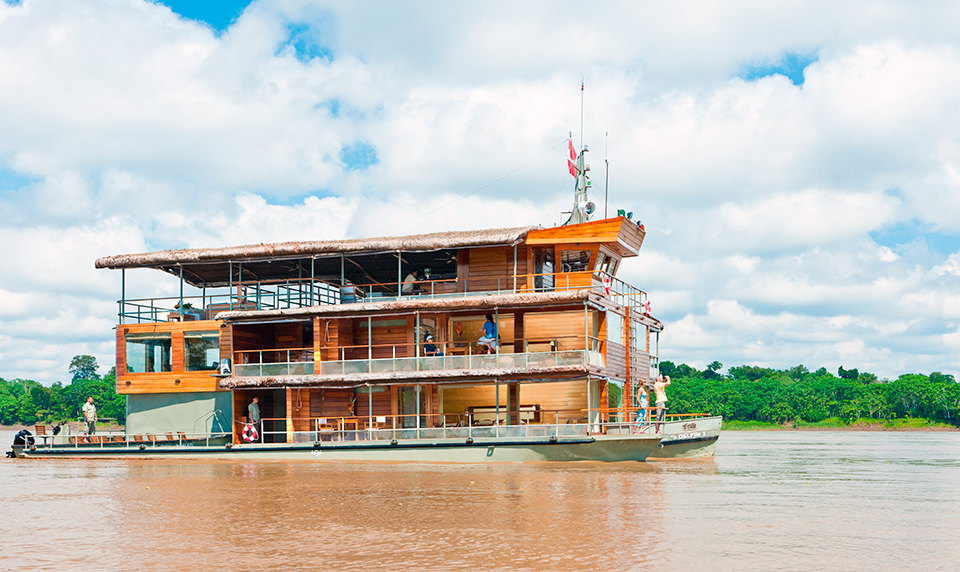 Delfin Amazon Luxury Peru Cruise
